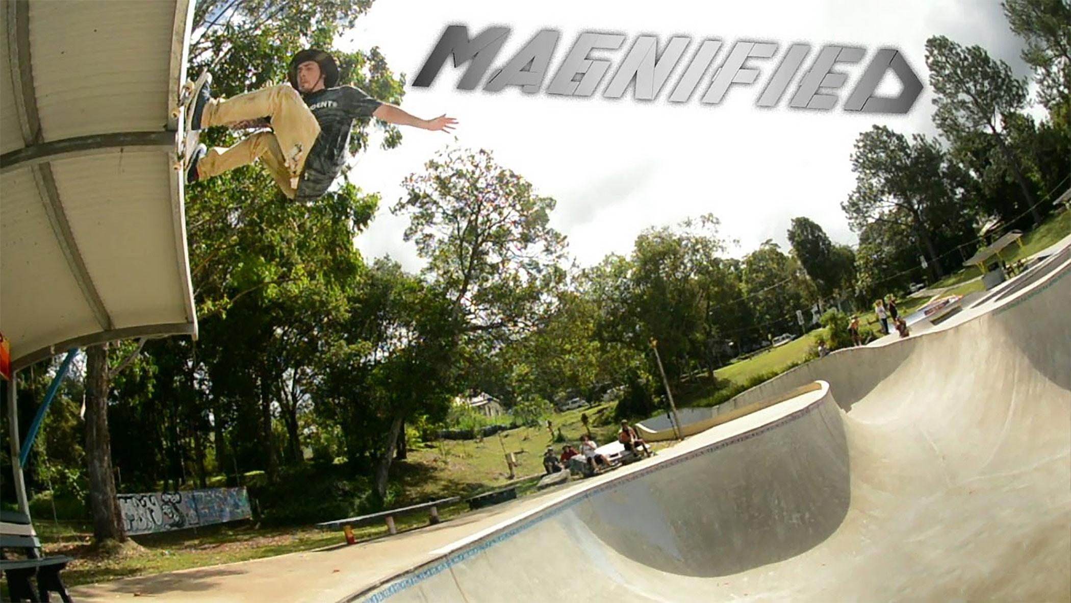 Kevin Kowalski 5050 bash at Nimbin skate park