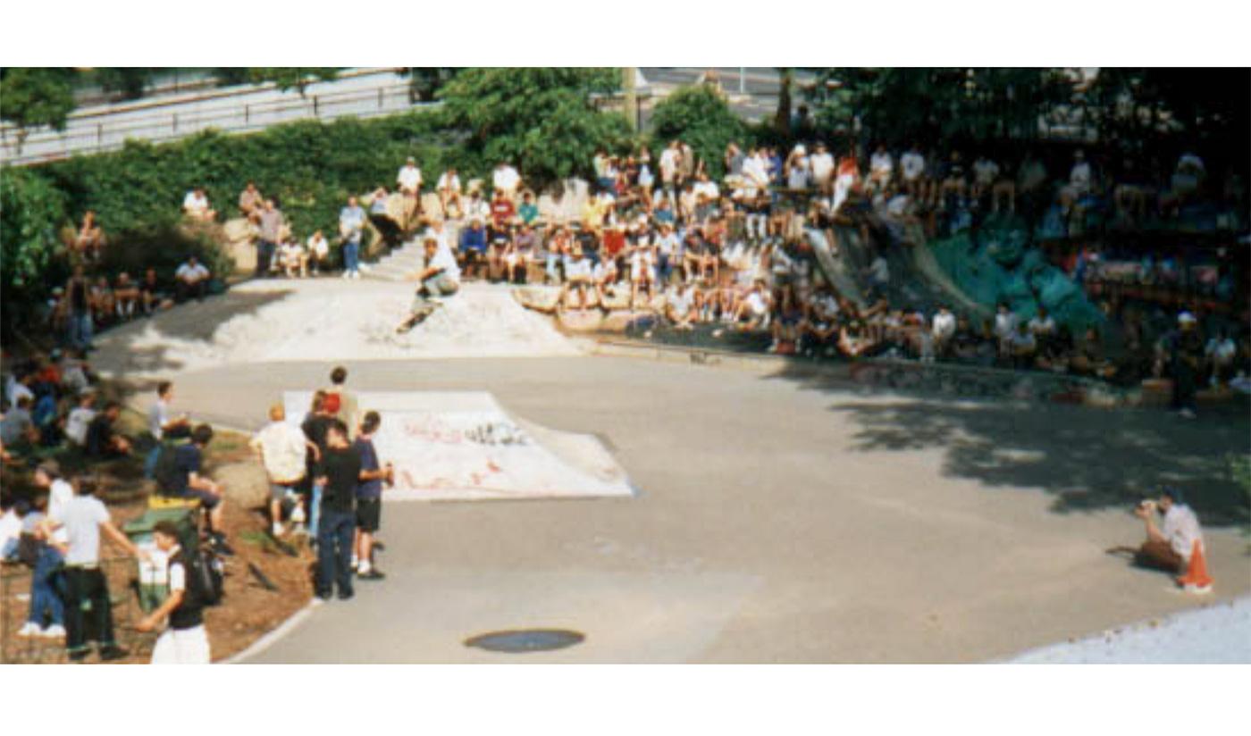 Paddington Skatepark, 91