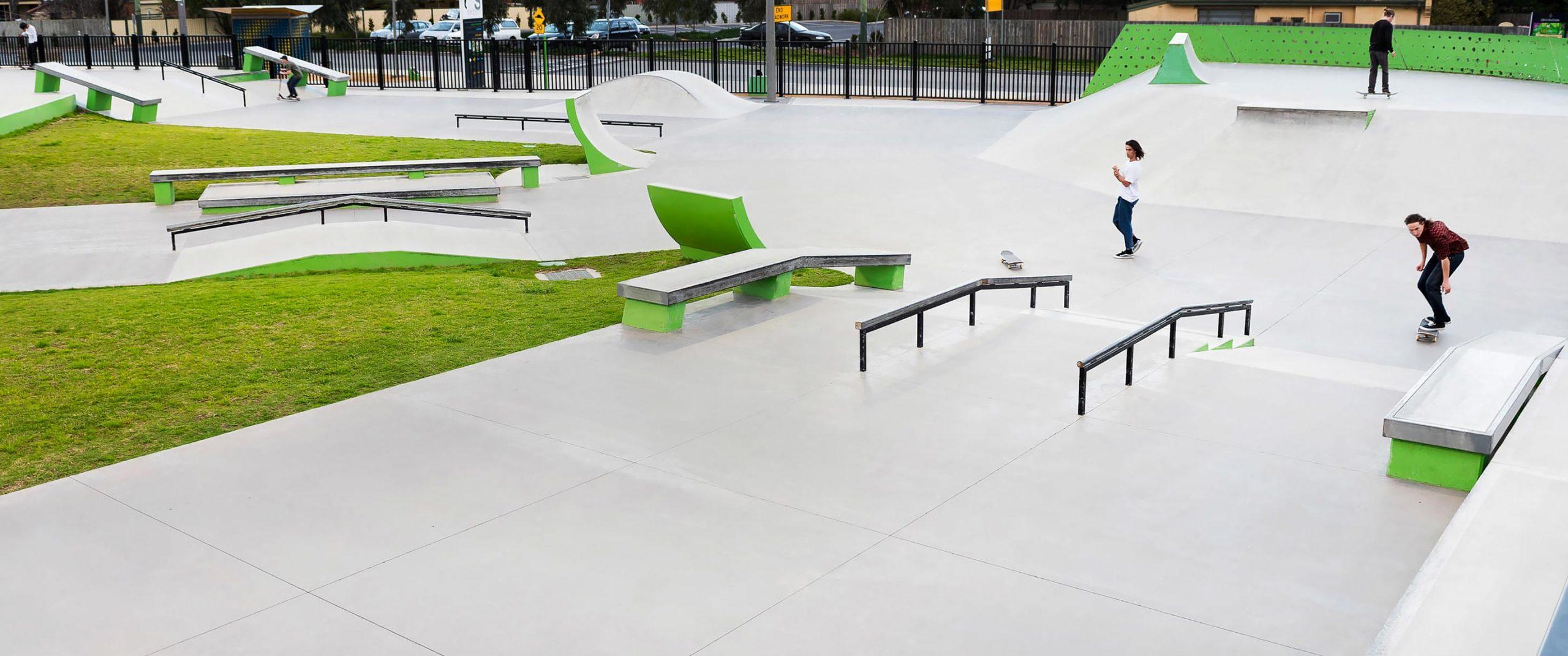Noble Park Skate Park Street
