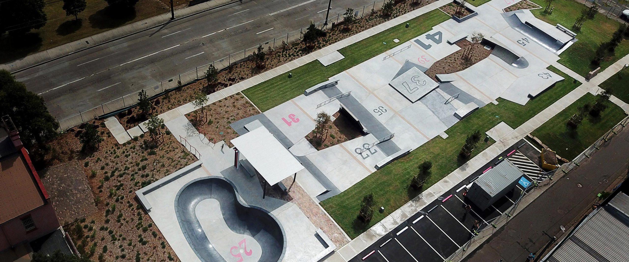 Sydenham Skate Park Overview