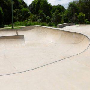 Bangalow skate park, Concrete Skateparks