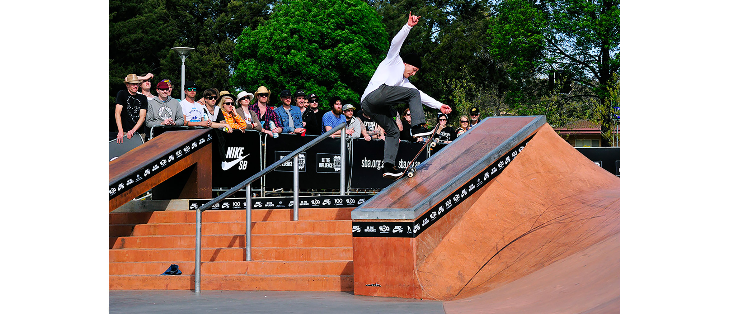 Bjorn Johnston switch fs blunt slide Belconnen hubba
