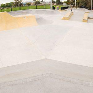 Bentleigh East skate park big bank