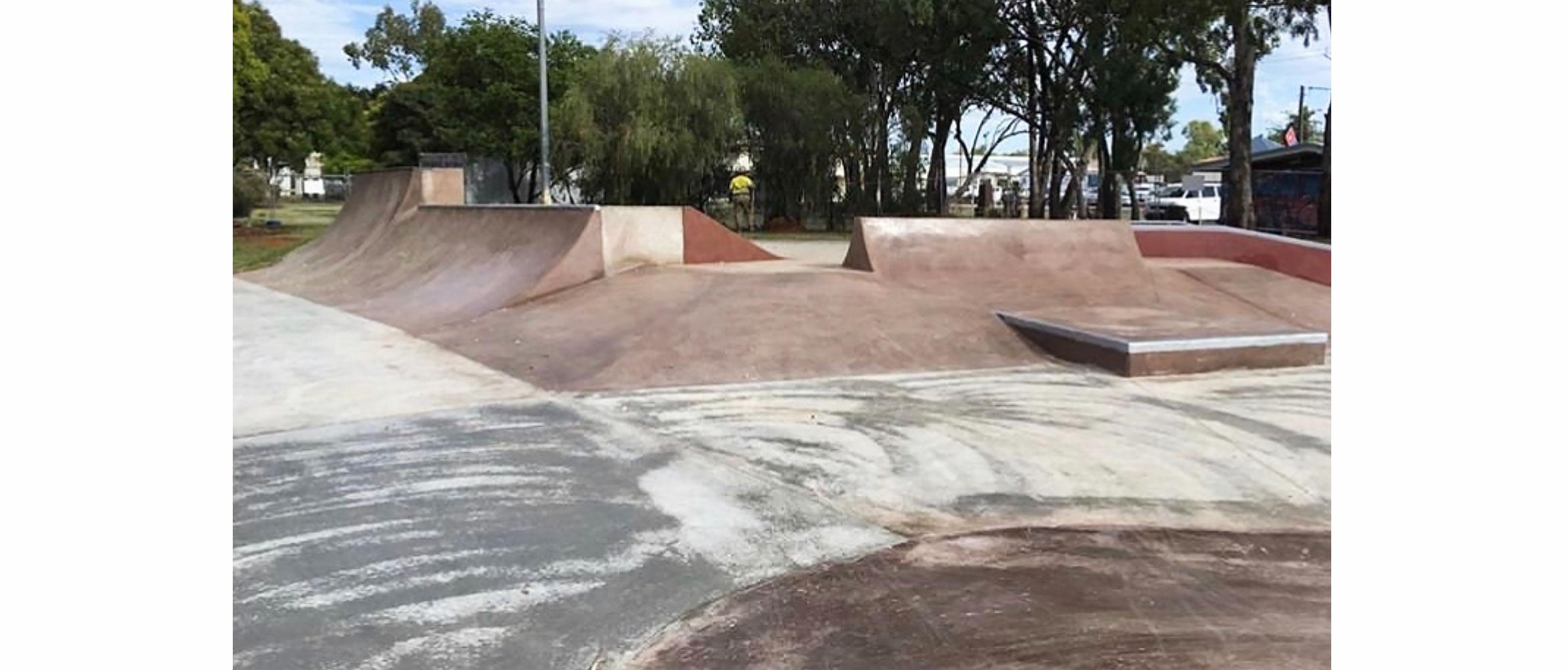 Chinchilla skate park hip