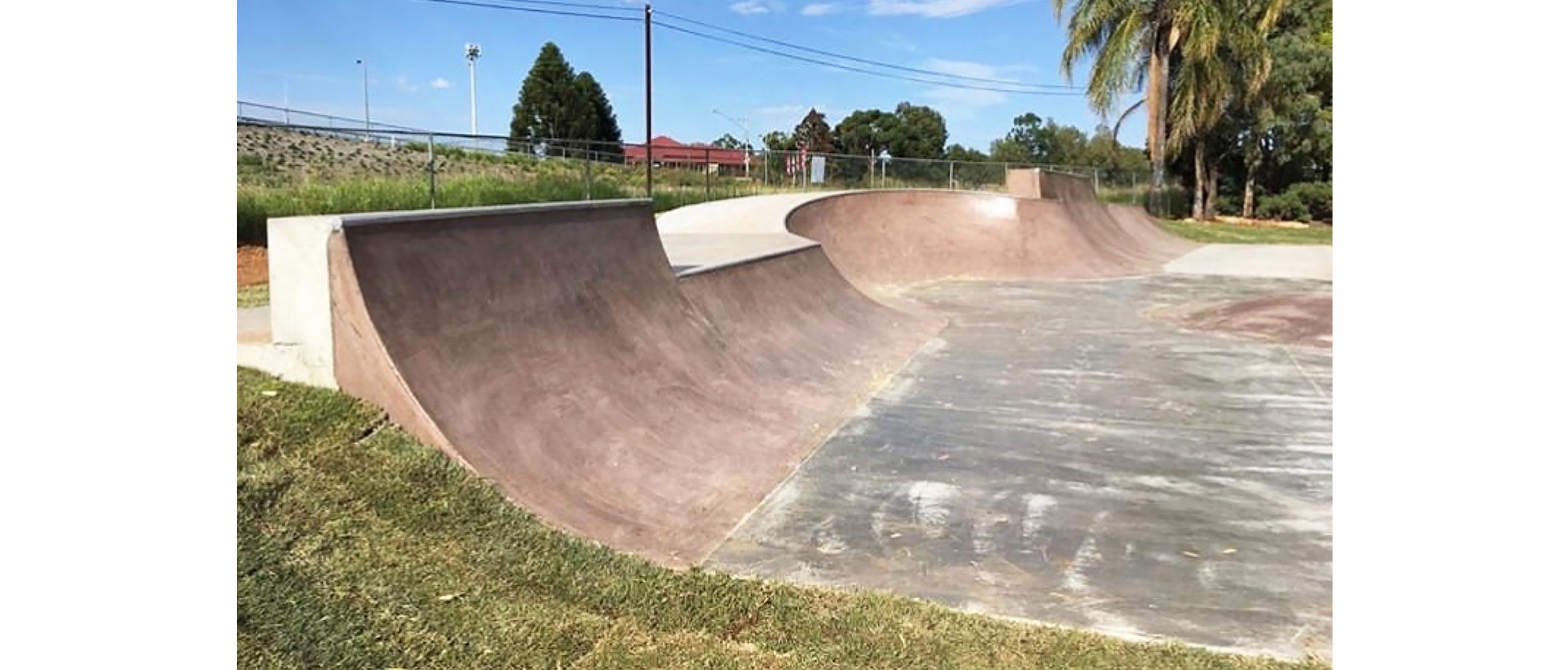 Chinchilla skate bowl