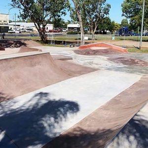 Chinchilla skate park mini ramp