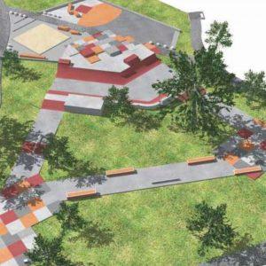 Croyden skate park design