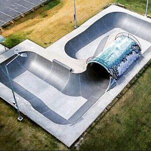 Elanora skate park overview