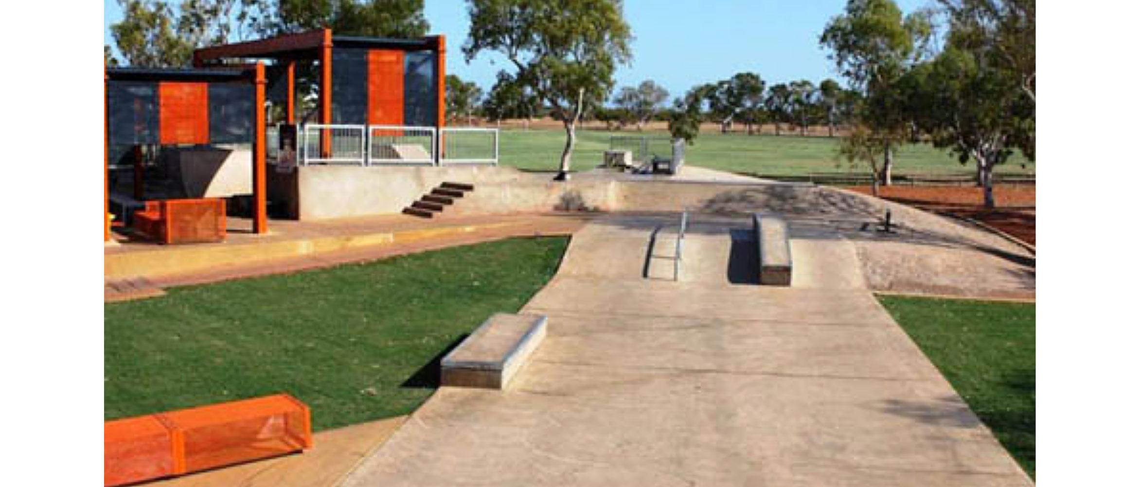 Exmouth skatepark, Western Australia