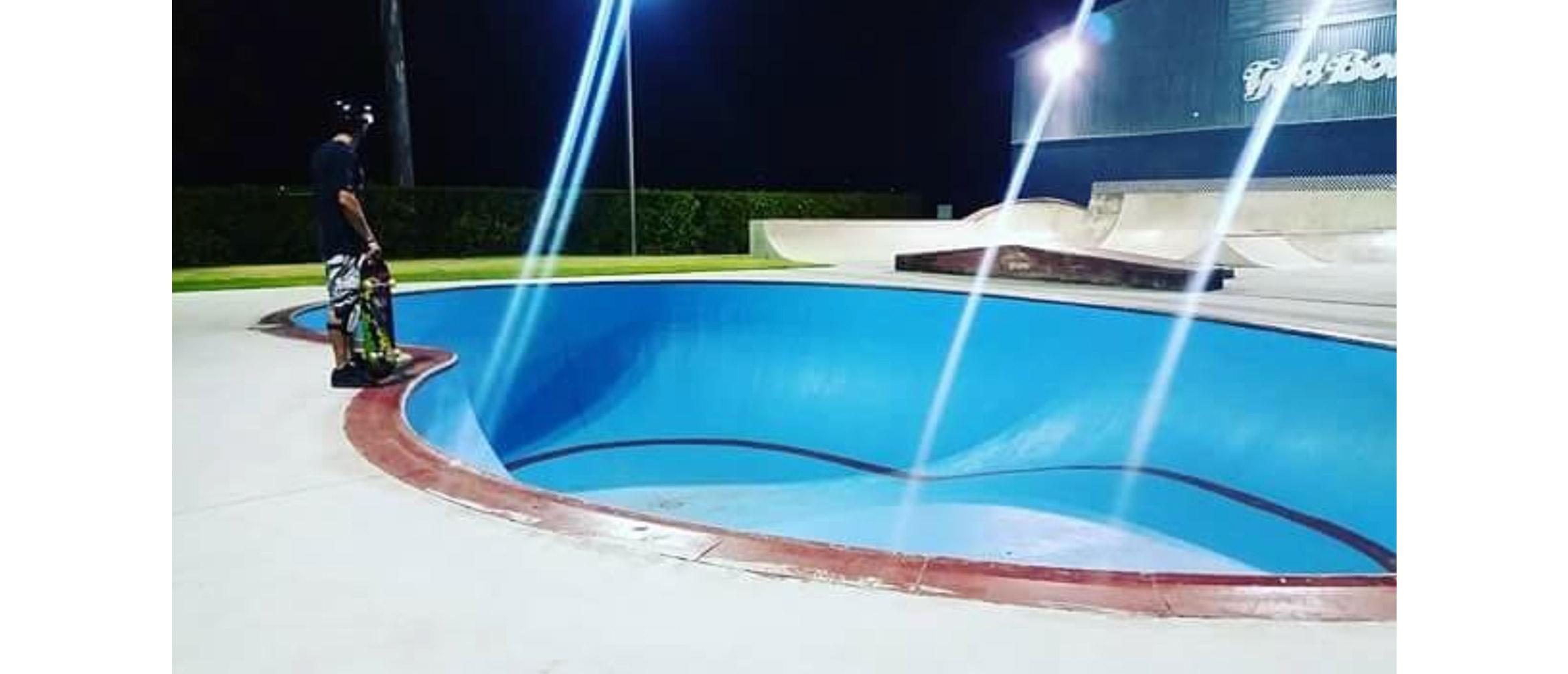 God Bowl Brisbane, private skatepark