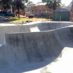 Kalgoorlie skate park Western Australia, Concrete Skateparks