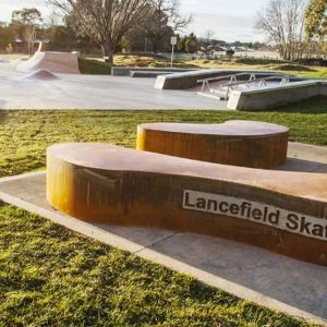 Lancefield skate park art