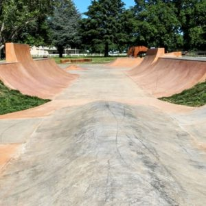 Lancefield half pipe