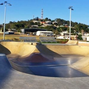 Sugar Bowl skate park Mackay small bowl