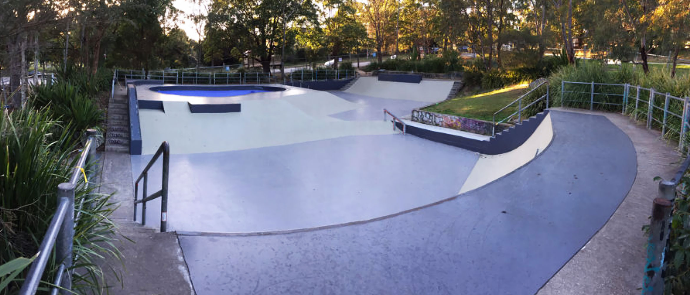 Manly Vale skate park sydney, concrete skateparks