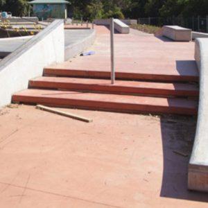 Nerang skate park under construction