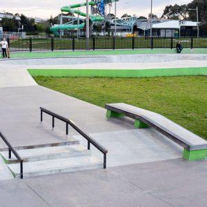Noble Park skate park street section