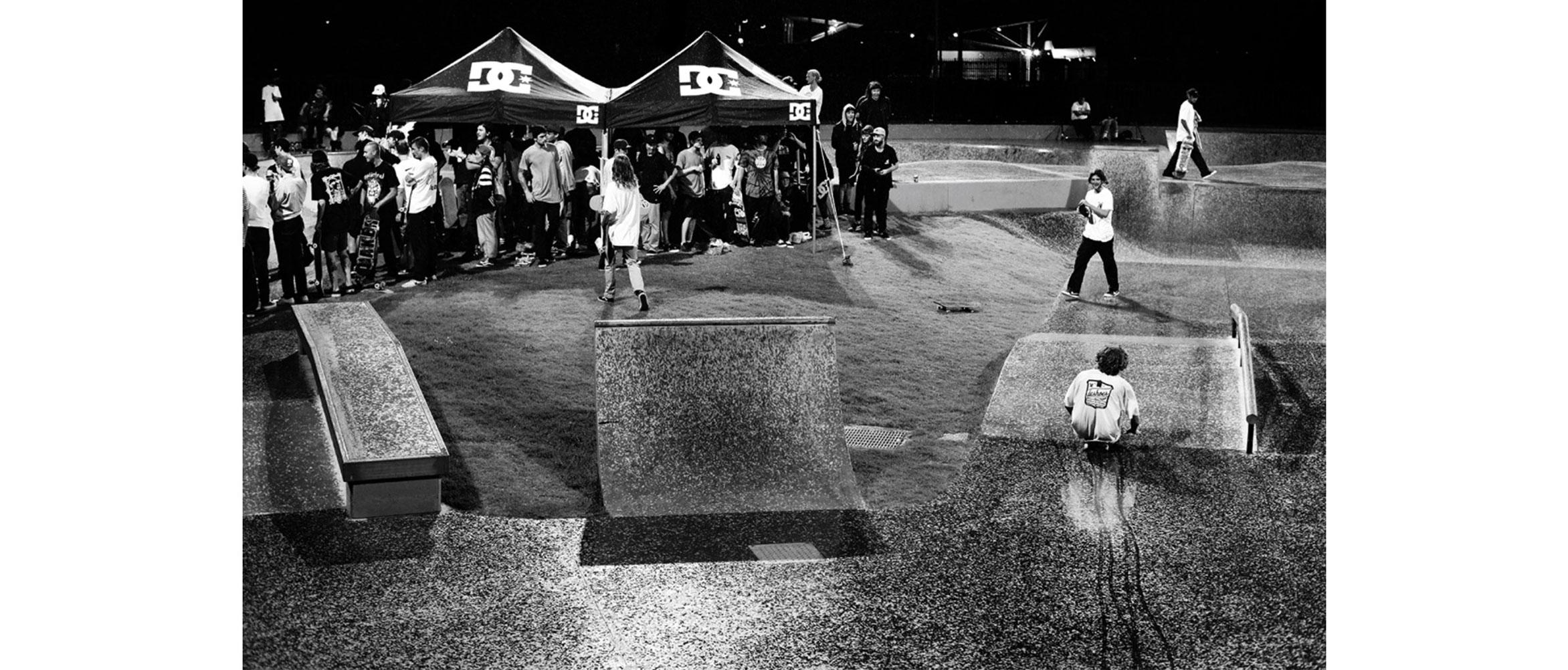DC shoes demo Noble Park skate park