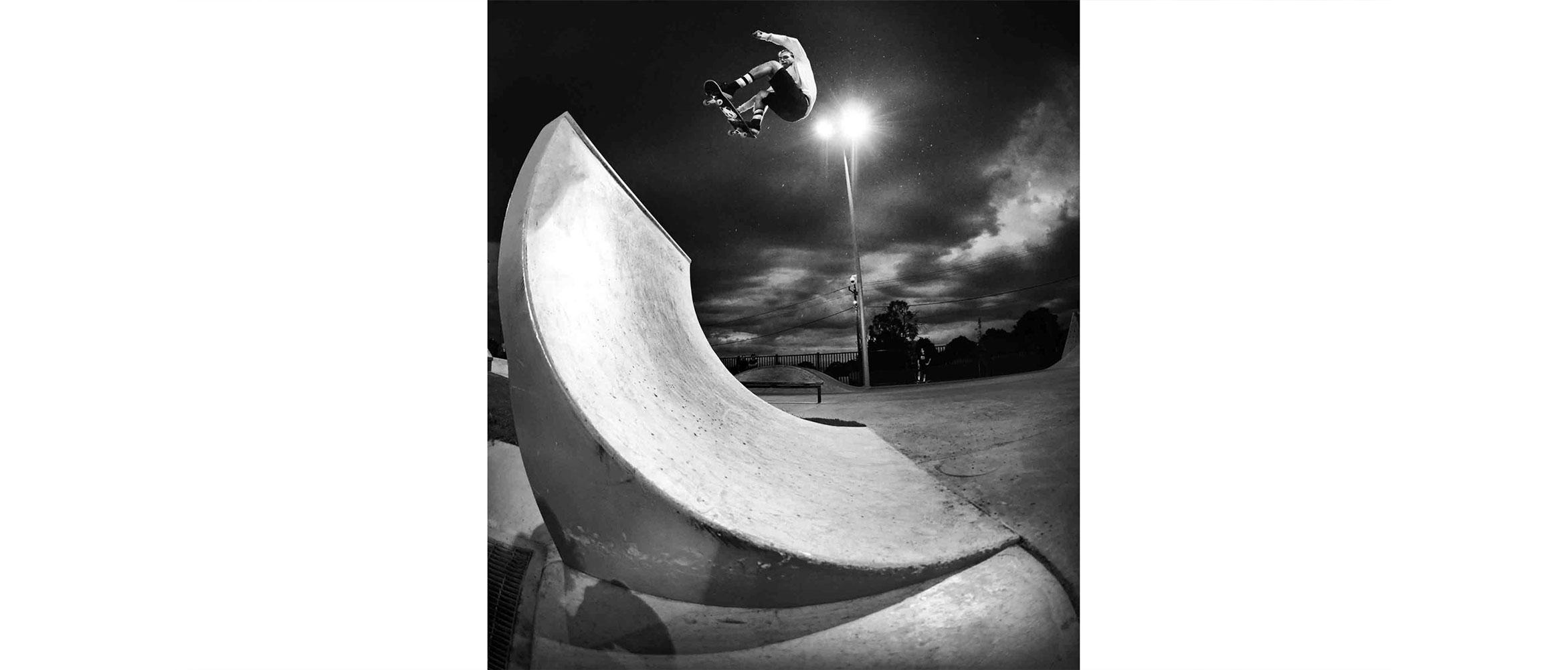 Bugs Fardell fs ollie DC demo Noble Park skate park
