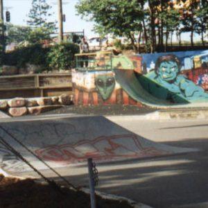 Paddington skatepark 1991