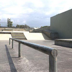 Randwick skate park street section
