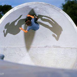 Rye skate park Mornington Peninsula, Dorfus frontside carve, Concrete Skateparks