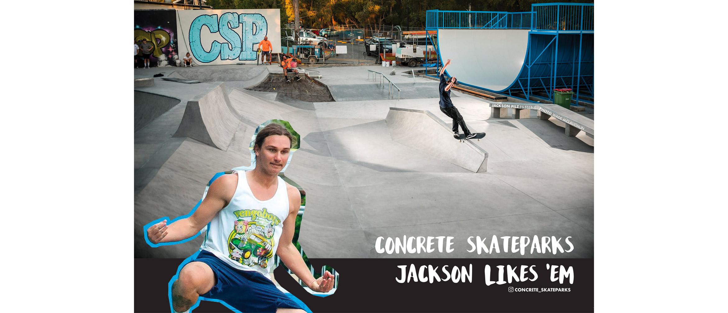 Jackson Pilz CSP ad for Fuknoath magazine