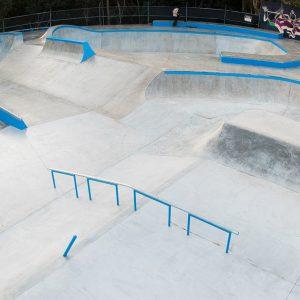 Sunshine Beach skate park overview