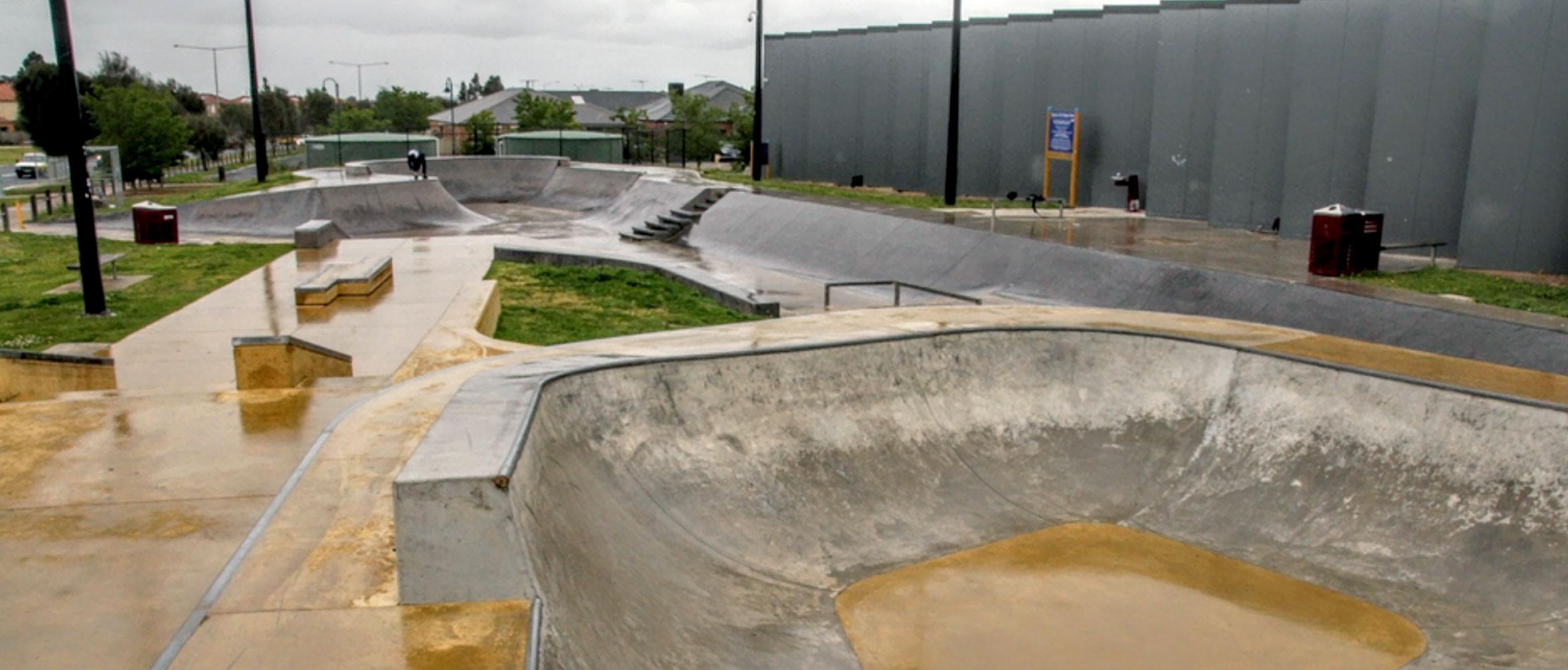 Taylors Hill skate bowl, Concrete Skateparks