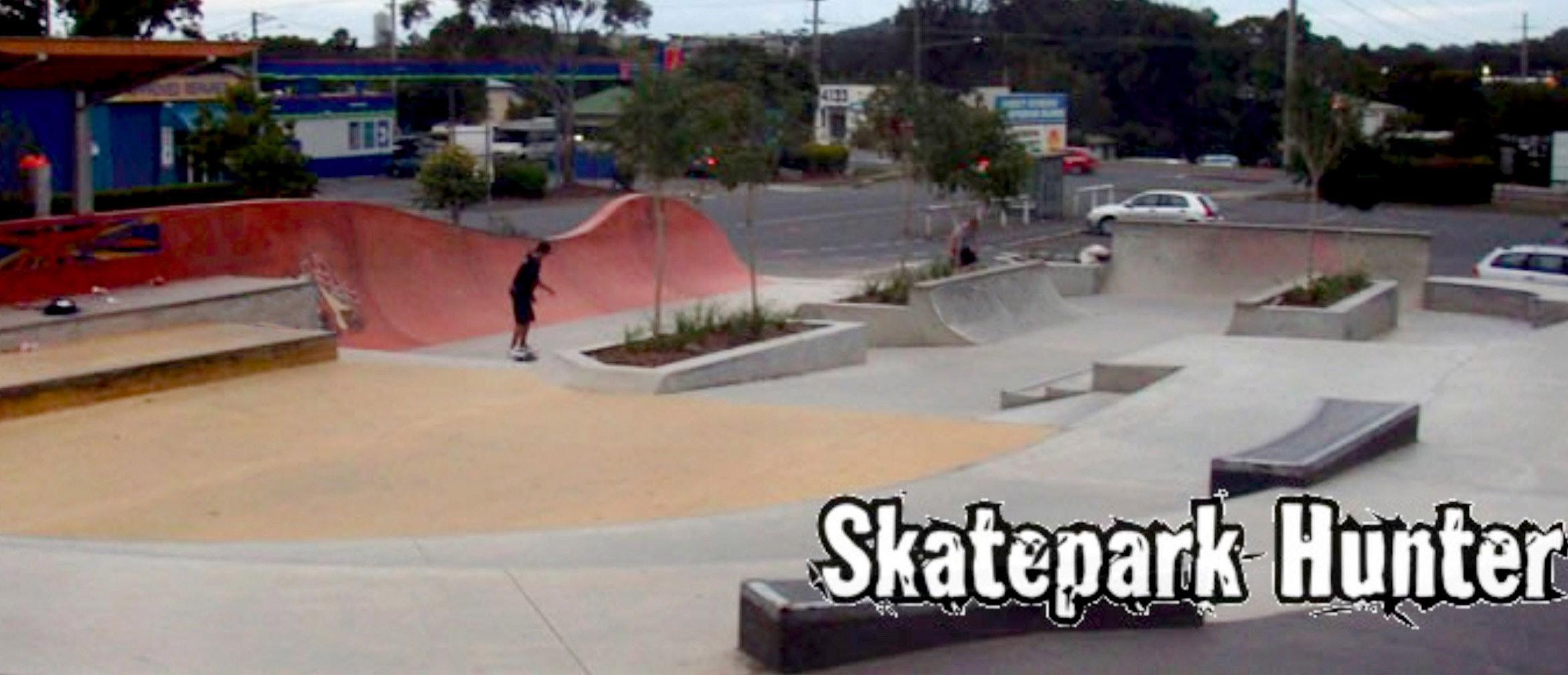 Varsity skate park hybrid section
