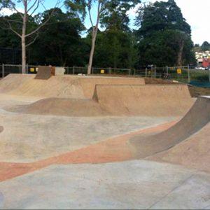 Wallsend skate park Newcastle, Concrete Skateparks